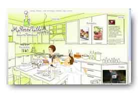 screenshot de www.ma-petite-table-marseille.com