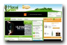 screenshot de www.marcelgreen.com