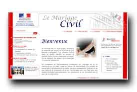 screenshot de www.mariage.gouv.fr