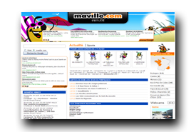 screenshot de www.maville.com