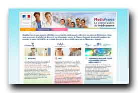 screenshot de www.portailmedicaments.sante.gouv.fr