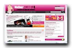 screenshot de www.meilleurcoiffeur.com