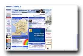 screenshot de www.meteoconsult.fr