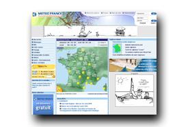 screenshot de www.meteofrance.com