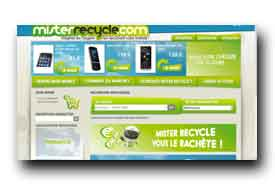 screenshot de www.misterrecycle.com