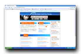 screenshot de www.modele-lettre-type.com