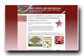 screenshot de www.mon-arbre-genealogique.fr