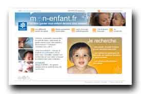 screenshot de www.mon-enfant.fr