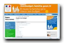 screenshot de www.monbudget.famille.gouv.fr