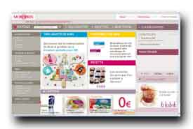 screenshot de www.monoprix.com