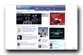 screenshot de www.musity.fr