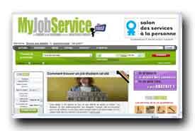 screenshot de www.myjobservice.fr