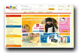 screenshot de www.mytoys.fr
