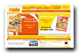 screenshot de www.netto.fr