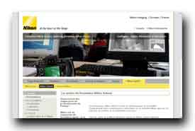 screenshot de www.nikon-school.fr