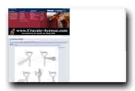 screenshot de www.noeud-de-cravate.com