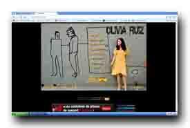 screenshot de www.olivia-ruiz.com