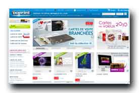 screenshot de www.ooprint.fr