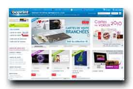 screenshot de www.ooprint.fr