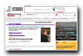 screenshot de www.opiniondujour.com