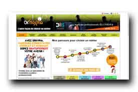 screenshot de www.orkypia.fr