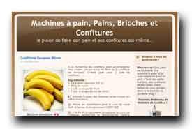 screenshot de www.pains-confitures.com