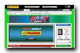 screenshot de www.paninionline.com