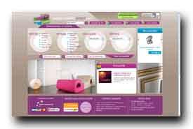 screenshot de www.papierspeintsdirect.com