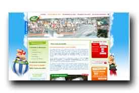 screenshot de www.parcasterix.fr