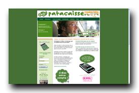 screenshot de www.patacaisse.com