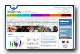 screenshot de www.pedagojeux.fr