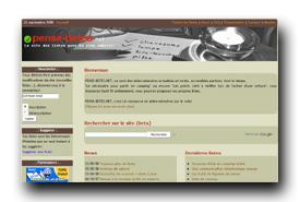 screenshot de www.pense-betes.net