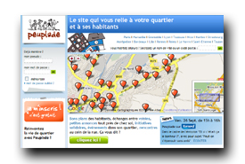screenshot de www.peuplade.fr