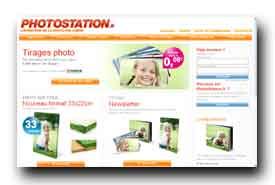 screenshot de www.photostation.fr