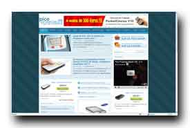 screenshot de www.picoprojecteurs.com