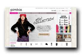 screenshot de www.pimkie.fr
