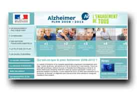 screenshot de www.plan-alzheimer.gouv.fr