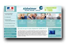 screenshot de www.plan-alzheimer.gouv.fr