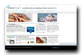 screenshot de www.poissonfrais.fr
