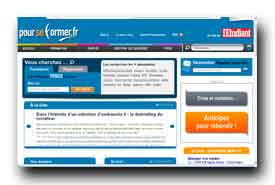 screenshot de www.pourseformer.fr