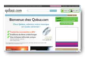 screenshot de www.qobuz.com