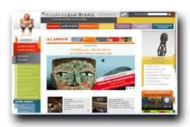 screenshot de www.quaibranly.fr
