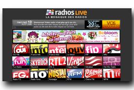 screenshot de www.radios.syxy.com