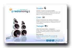 screenshot de www.radionomy.com