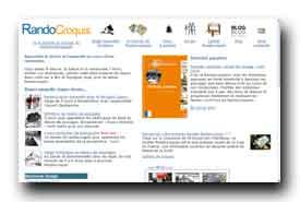 screenshot de www.randocroquis.com