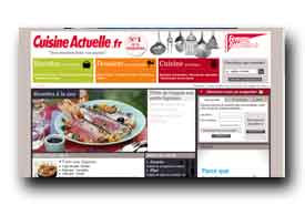 screenshot de www.cuisine-et-recette.fr
