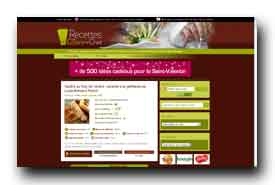 screenshot de www.recettes-de-cuisine-de-chef.fr