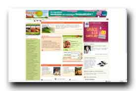 screenshot de www.recettespourtous.com