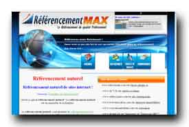 screenshot de www.referencementmax.com