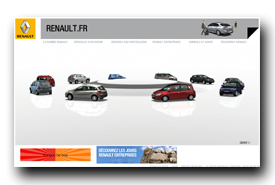 screenshot de www.renault.fr